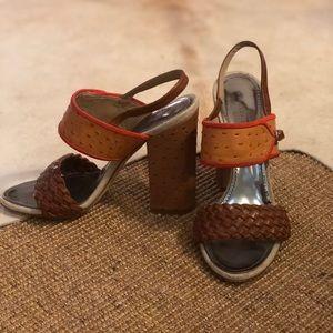 Authentic Proenza Schouler Embossed Sandal